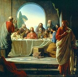 Judas Leaves the Supper-Carl Bloch