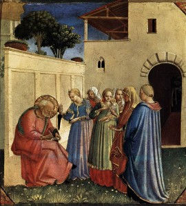Fra Angelico naming of John