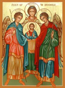 Three Archangels Arlene Tilghman