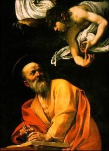 insp of st. matt caravaggio