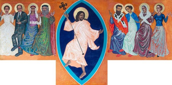 dancing saints St. Gregory of Nyssa Episcopal