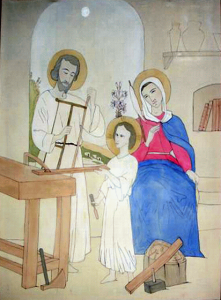 holy family working